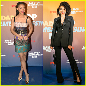 Kyla-Drew & Corinne Foxx Premiere Their New Netflix Series 'Dad Stop Embarrassing Me!'
