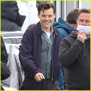 Harry Styles' Infectious Smile Is on Full Display in These 'My Policeman' Set Photos!