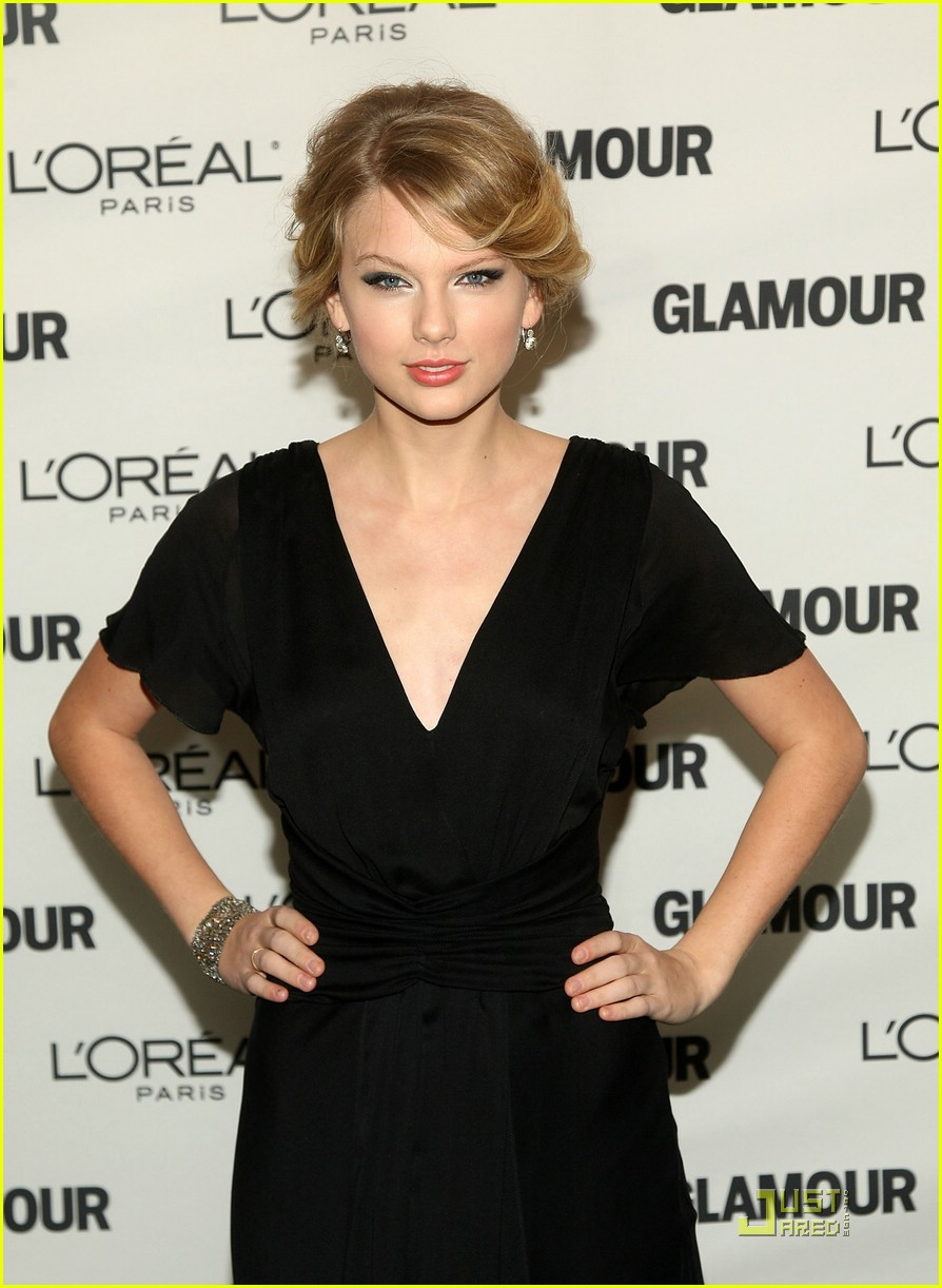 taylor swift glamour awards 2008 01