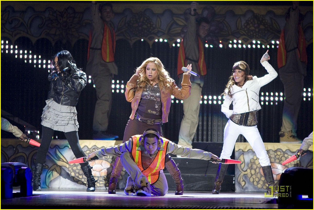 cheetah girls chicago concert 10