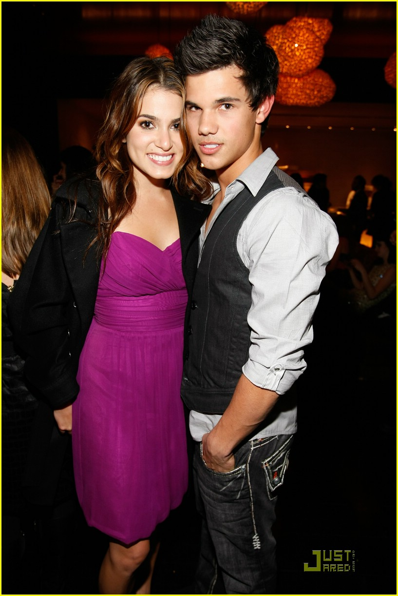 nikki reed taylor lautner salute hollywood 09