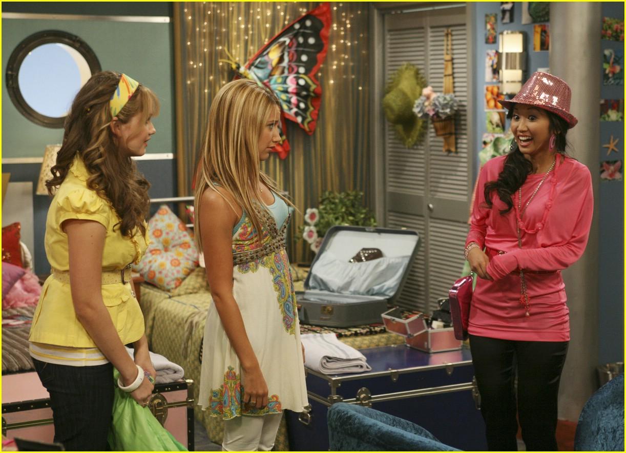 Ashley Tisdale Boards The S.S. Tipton | Photo 34411 ...