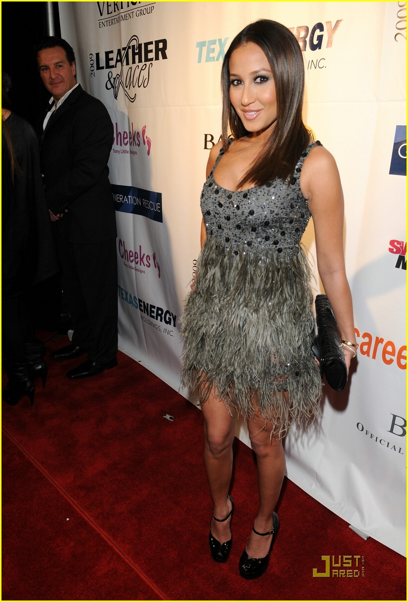 adrienne bailon super bowl party 12
