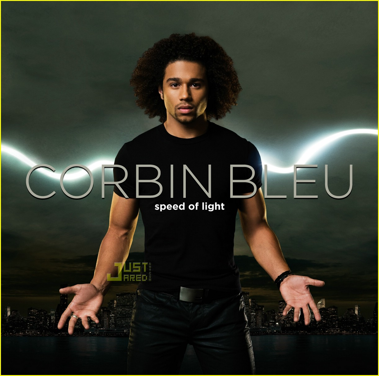 corbin bleu speed light cover 01