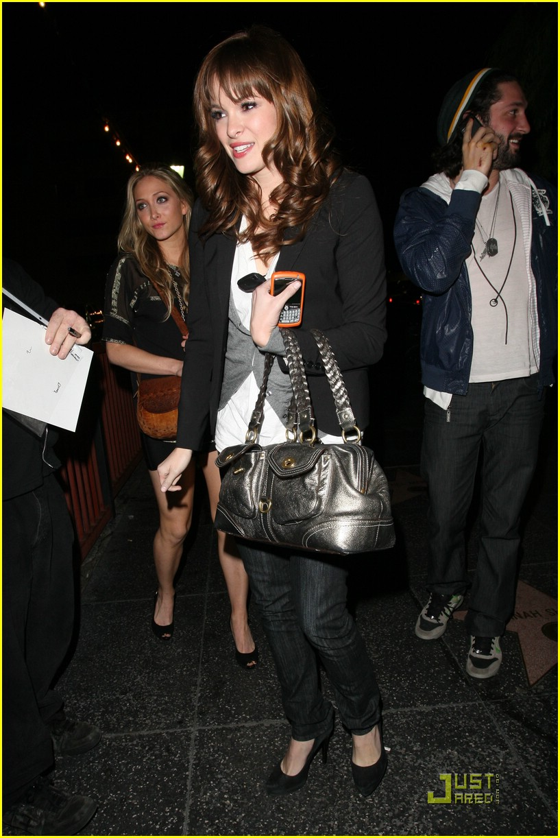 danielle panabaker bardot lounge 03