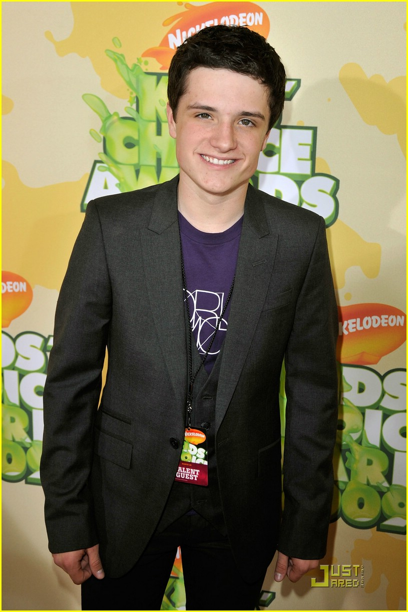josh hutcherson kids choice awards 06