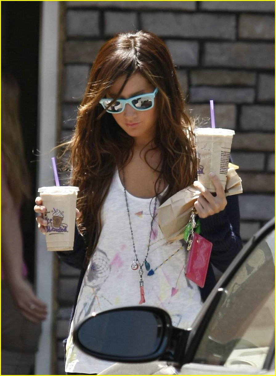 ashley tisdale coffee bean cute 08