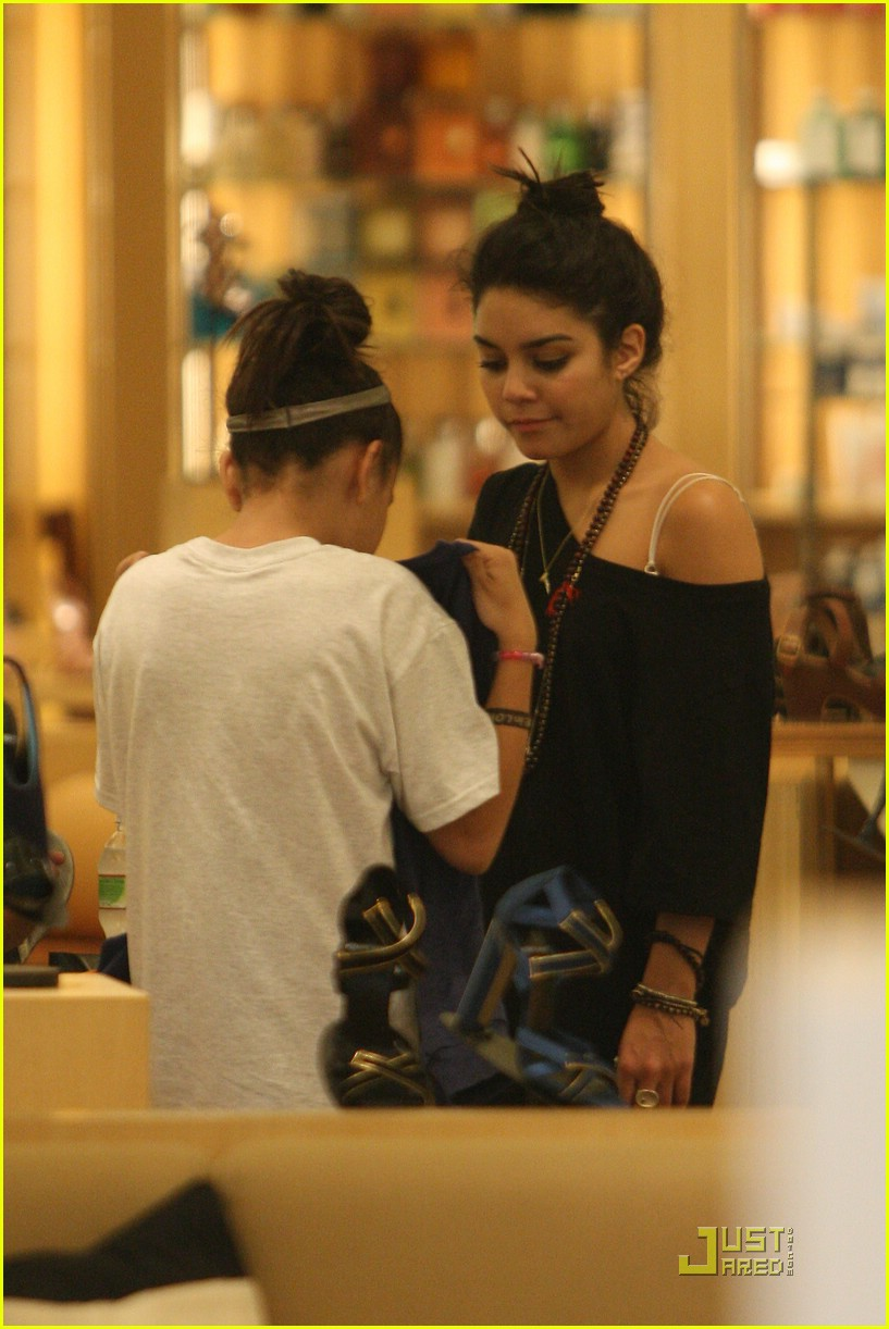 vanessa hudgens shoe shopping barneys 13