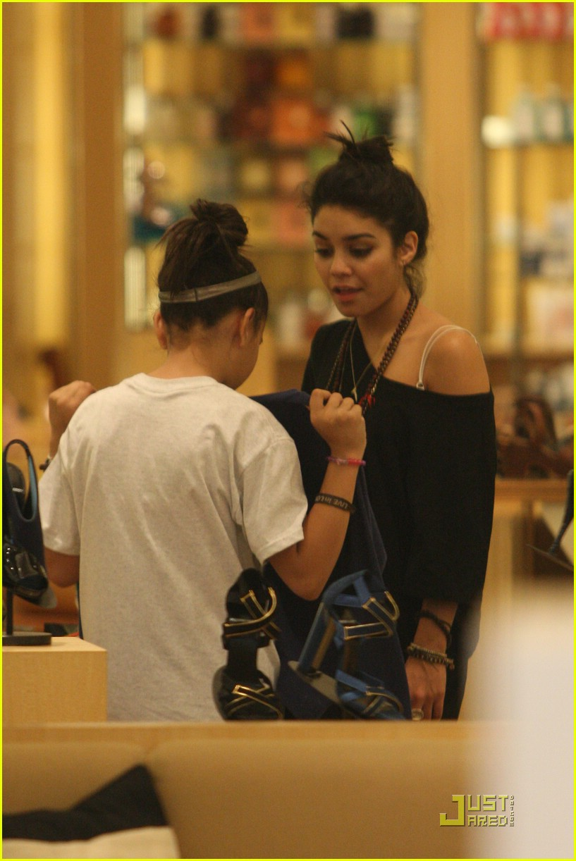 vanessa hudgens shoe shopping barneys 15