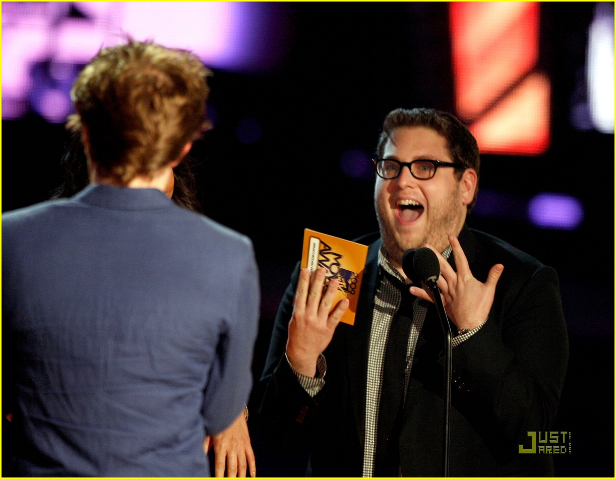 robert pattinson mtv movie awards 07