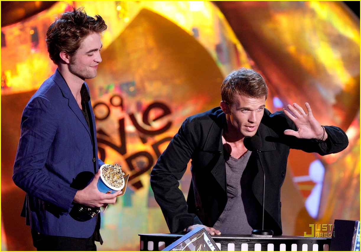 robert pattinson mtv movie awards 09