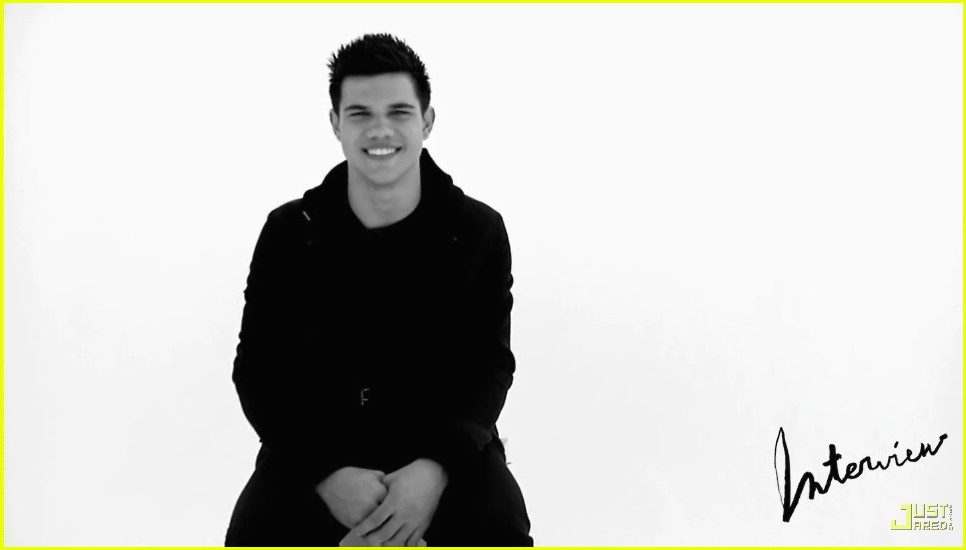 taylor lautner interview magazine video 01