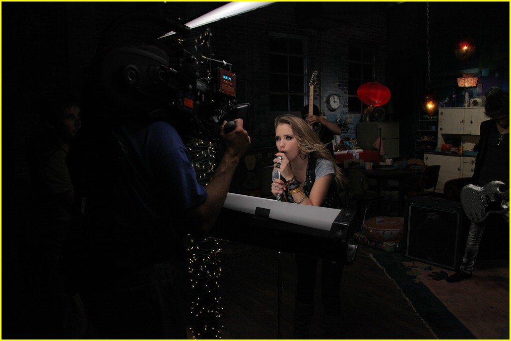 emily osment all the way up video shoot 13