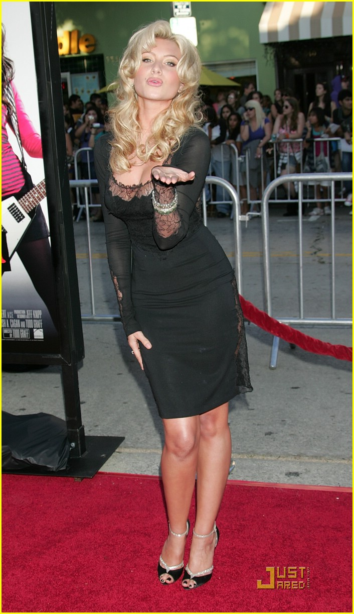 alyson michalka bandslam premiere 13