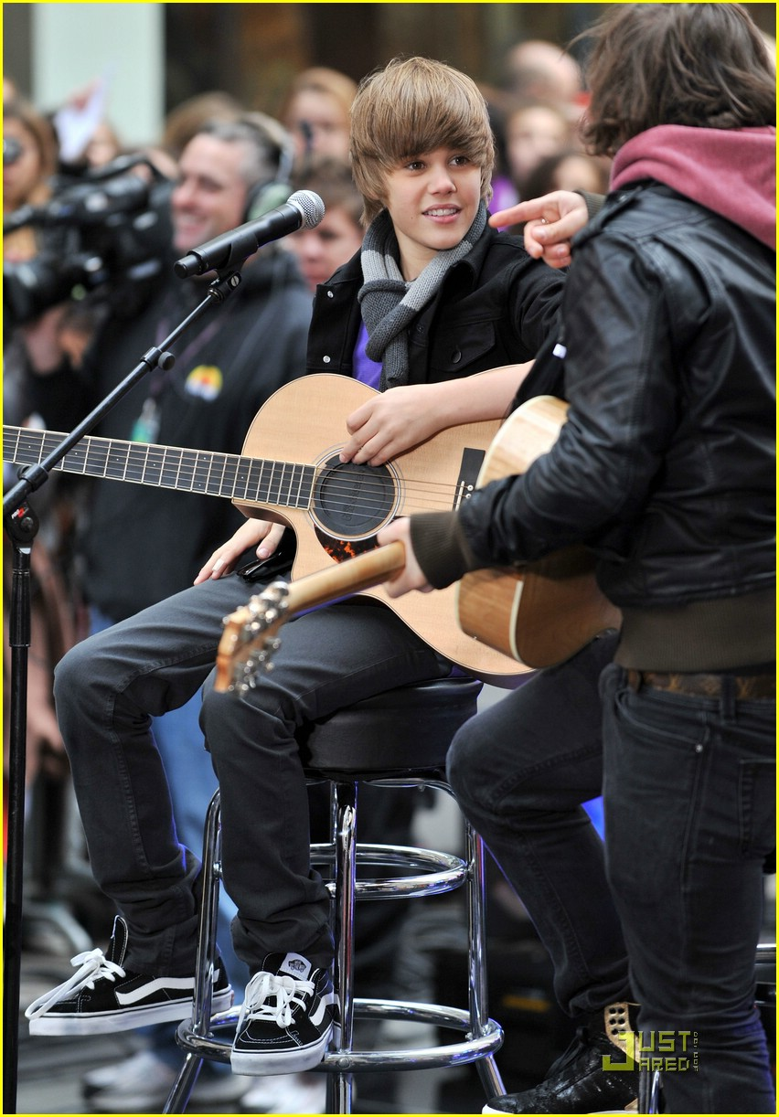 justin bieber today show 12