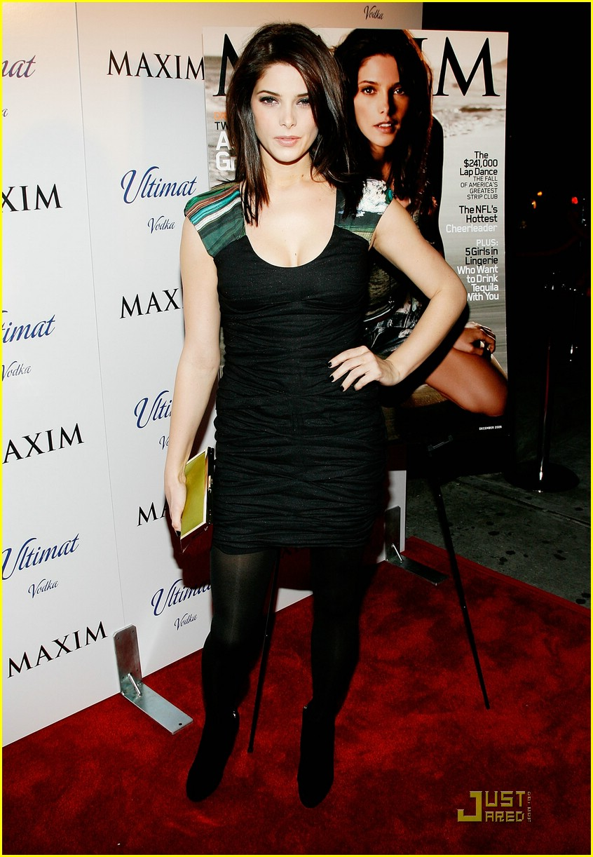 ashley greene maxim cover party 01