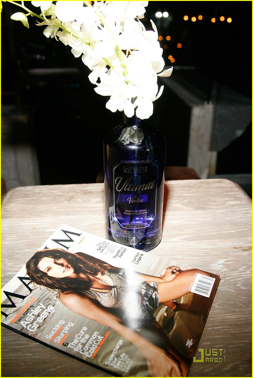 ashley greene maxim cover party 10
