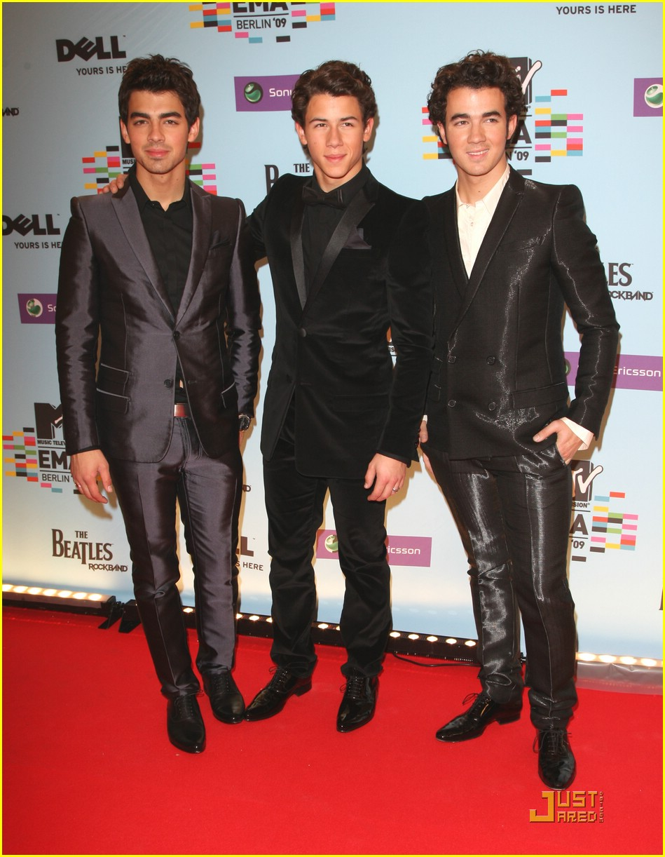 jonas brothers ema awards 08