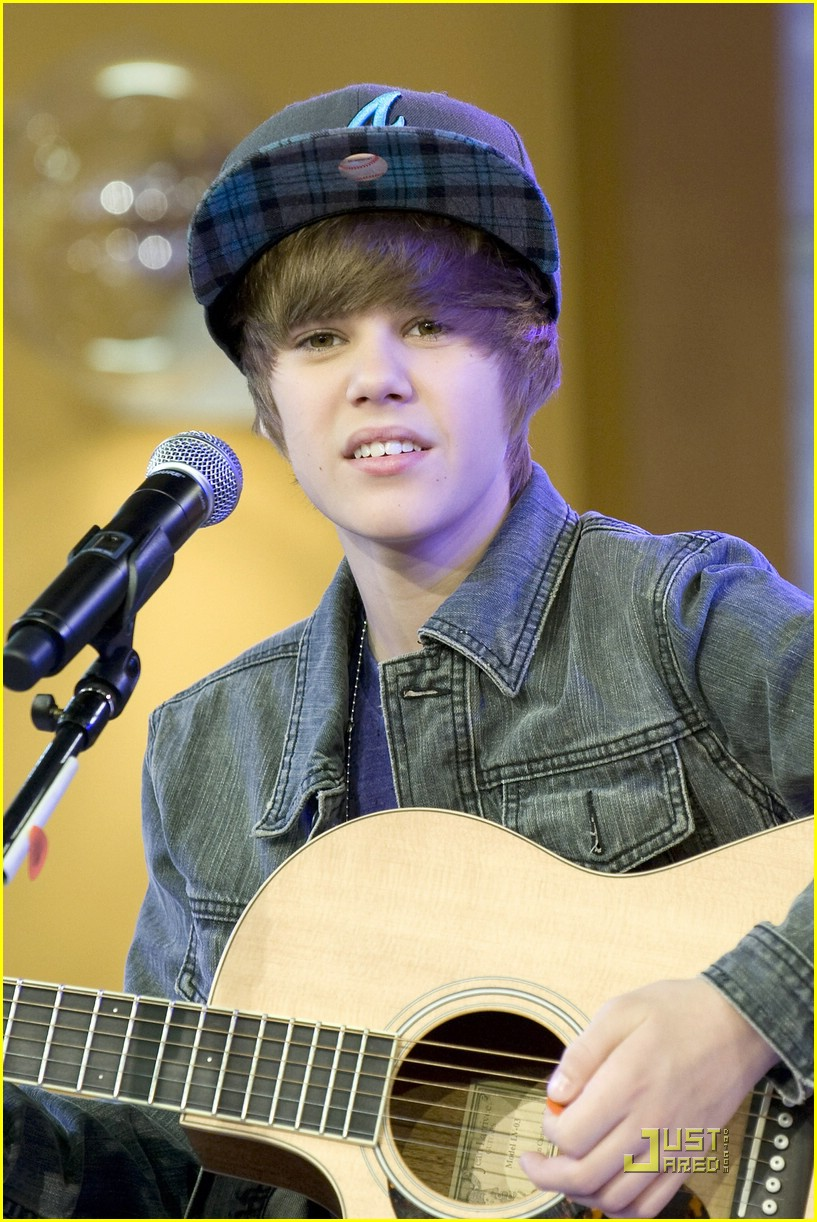 justin bieber gma sunday 13