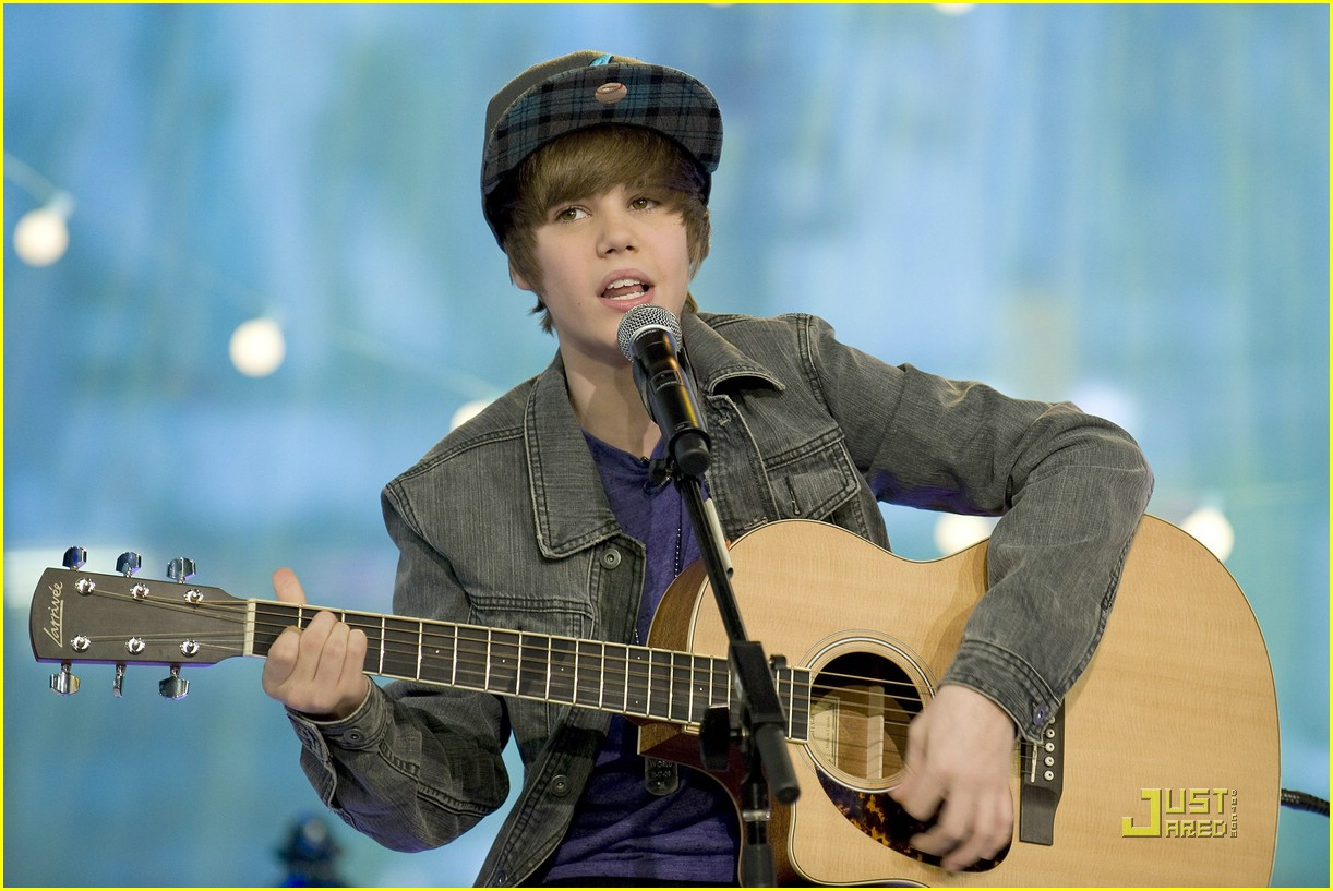 justin bieber gma sunday 18