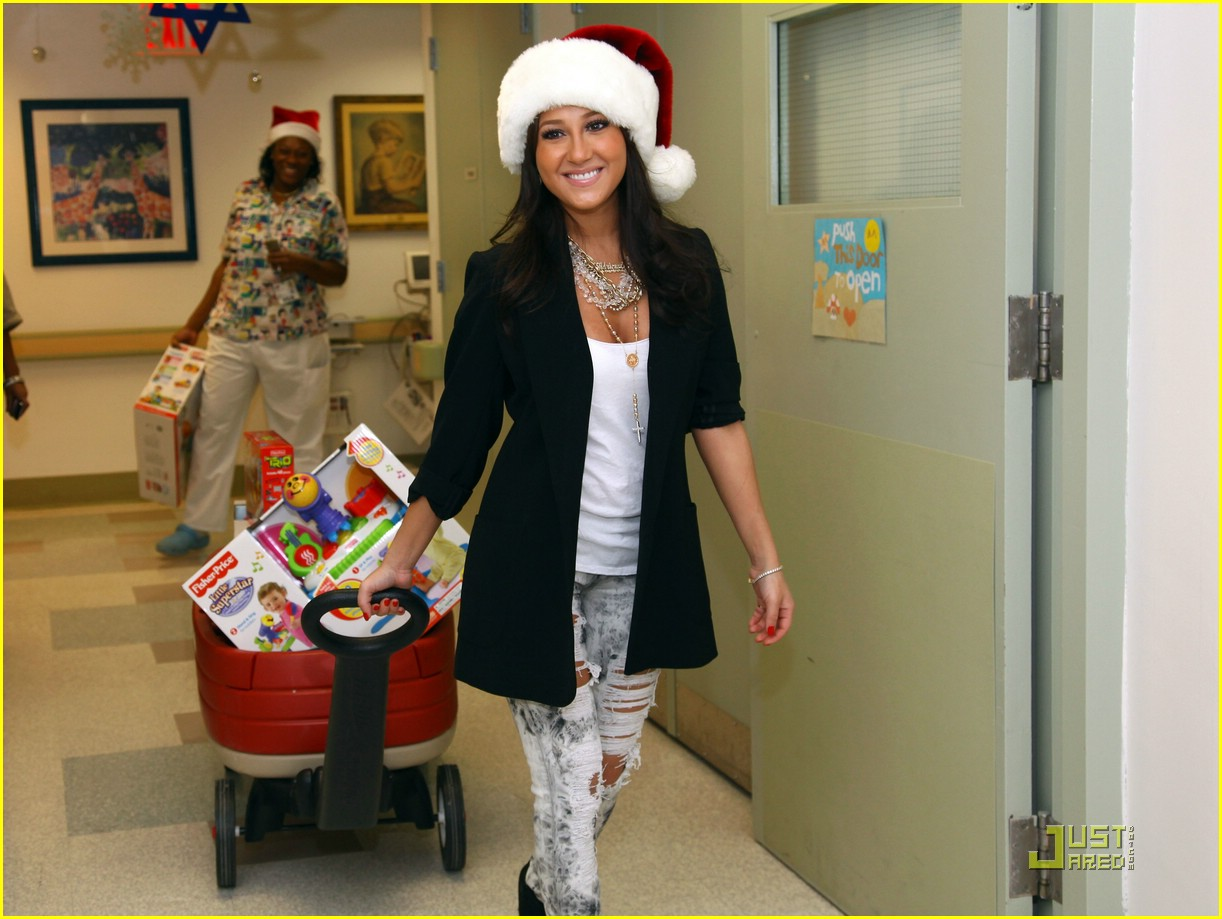 adrienne bailon christmas children 21