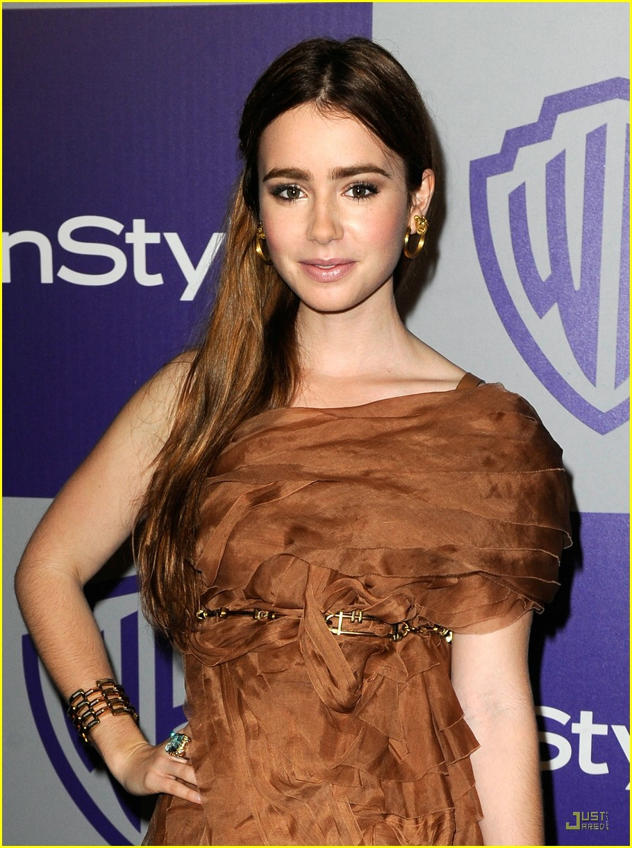 lily collins instyle party 01