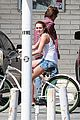 Liammiley-biking miley cyrus liam hemsworth biking 11
