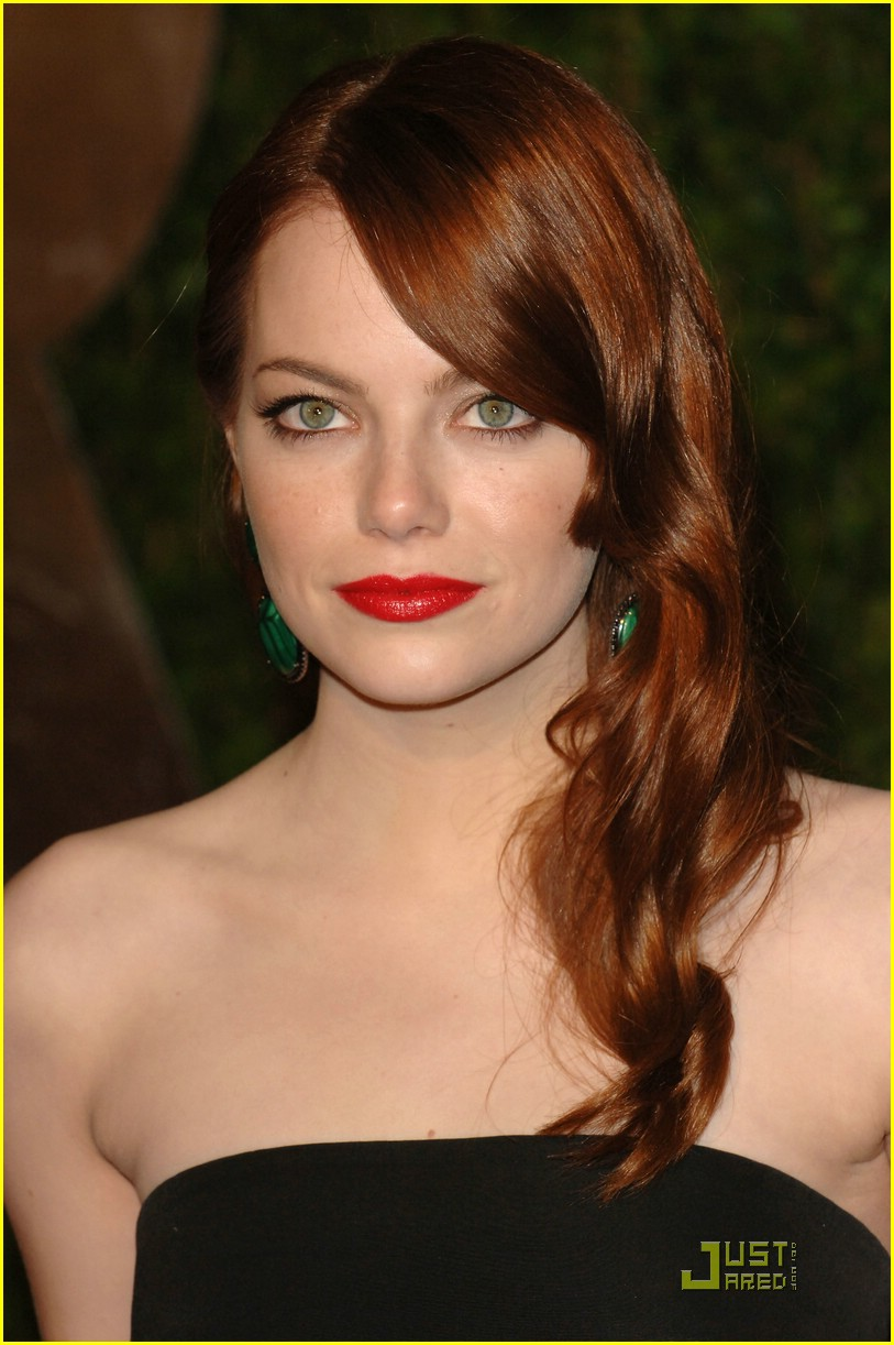 emma stone vanity fair party 06
