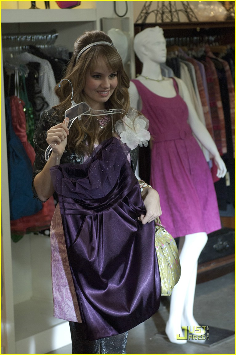 win debby ryan dress 01