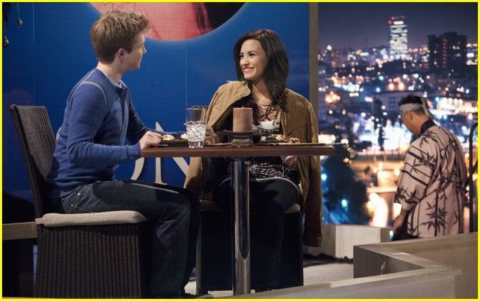 demi lovato sterling knight date 13