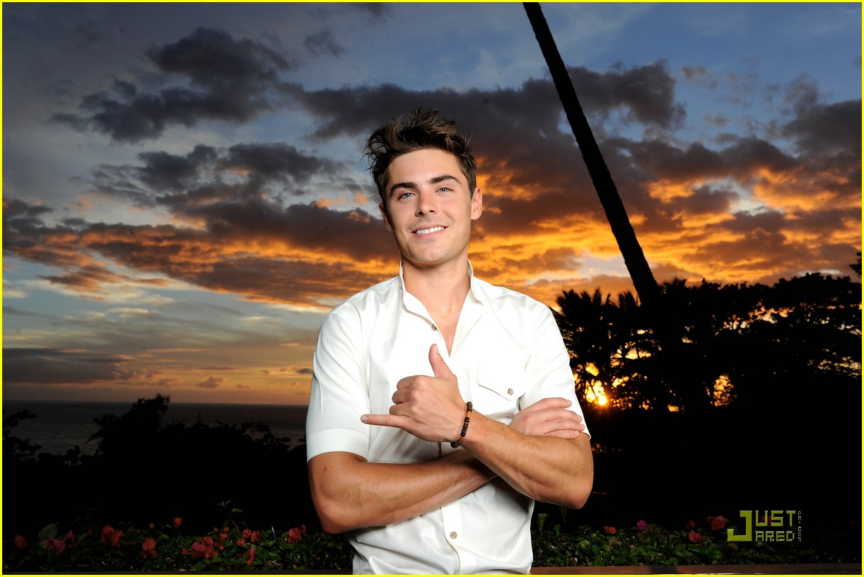 zac efron shining star award maui 06
