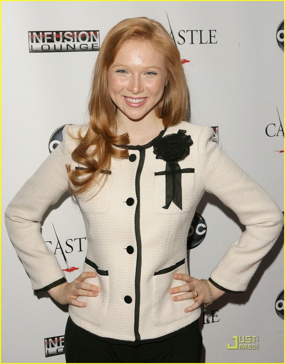 molly quinn castle premiere 02