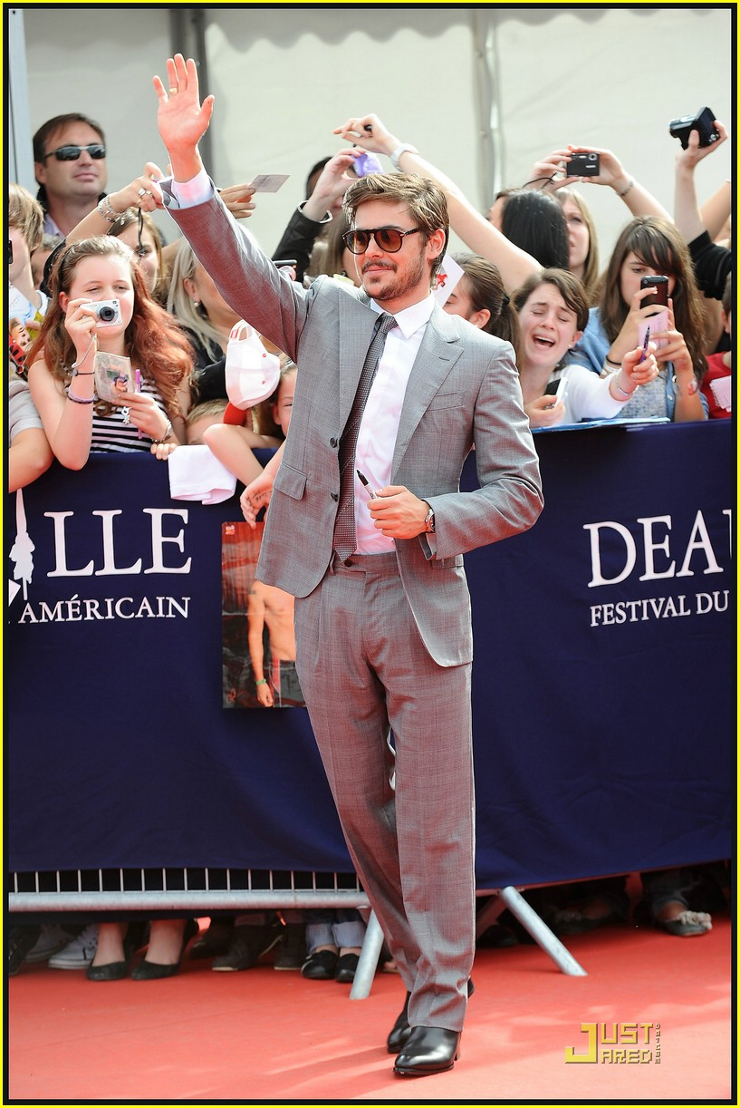 zac efron deauville film festival 16