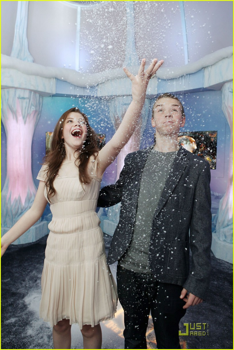 georgie henley will poulter lighting ice palace 01