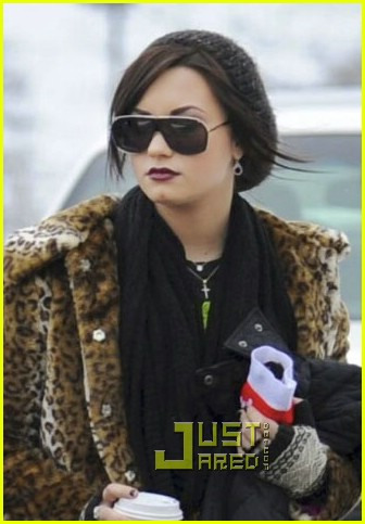 Demi Lovato: Christmas in Chicago with Family | Photo 398708 ...