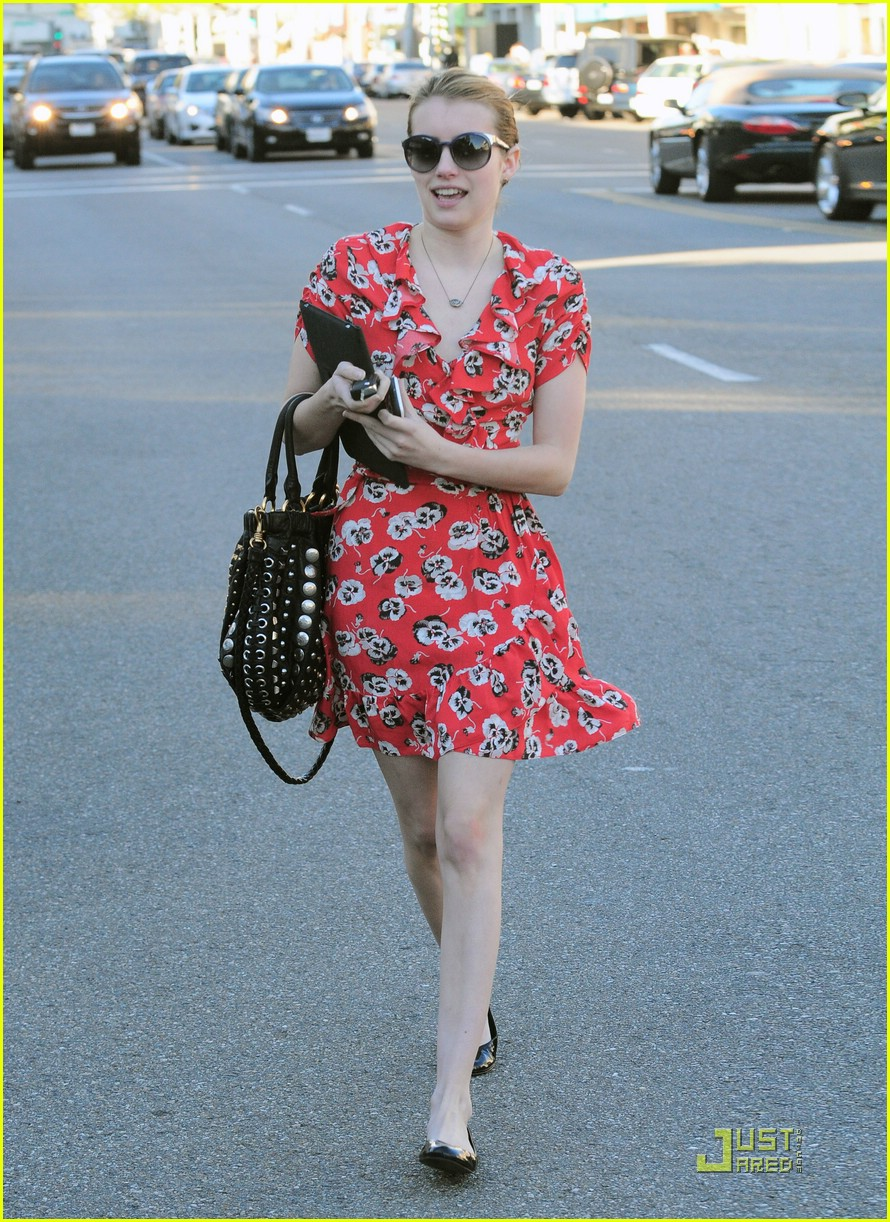 emma roberts kate moss topshop dress 08