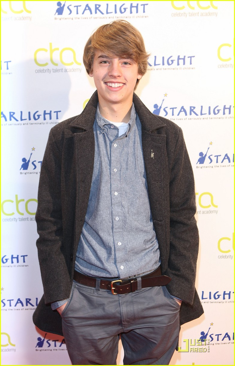 Cole and Dylan Sprouse arrive to teach a Master Workshop on acting at