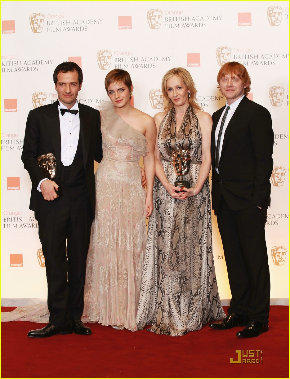 rupert grint bafta awards 02