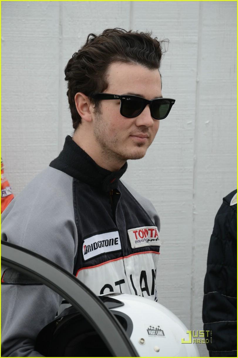 Kevin Jonas Toyota Racing Training Session Photo