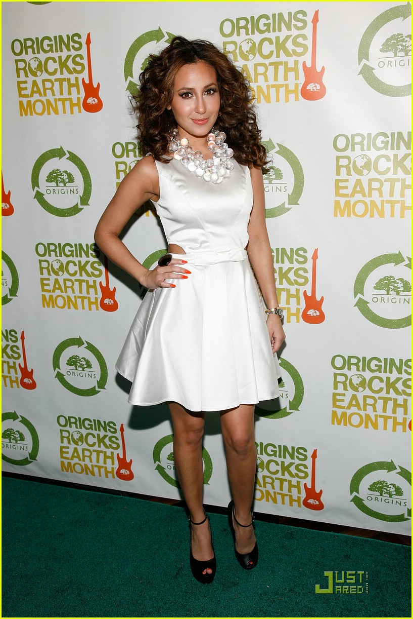 adrienne bailon guess earth month 04
