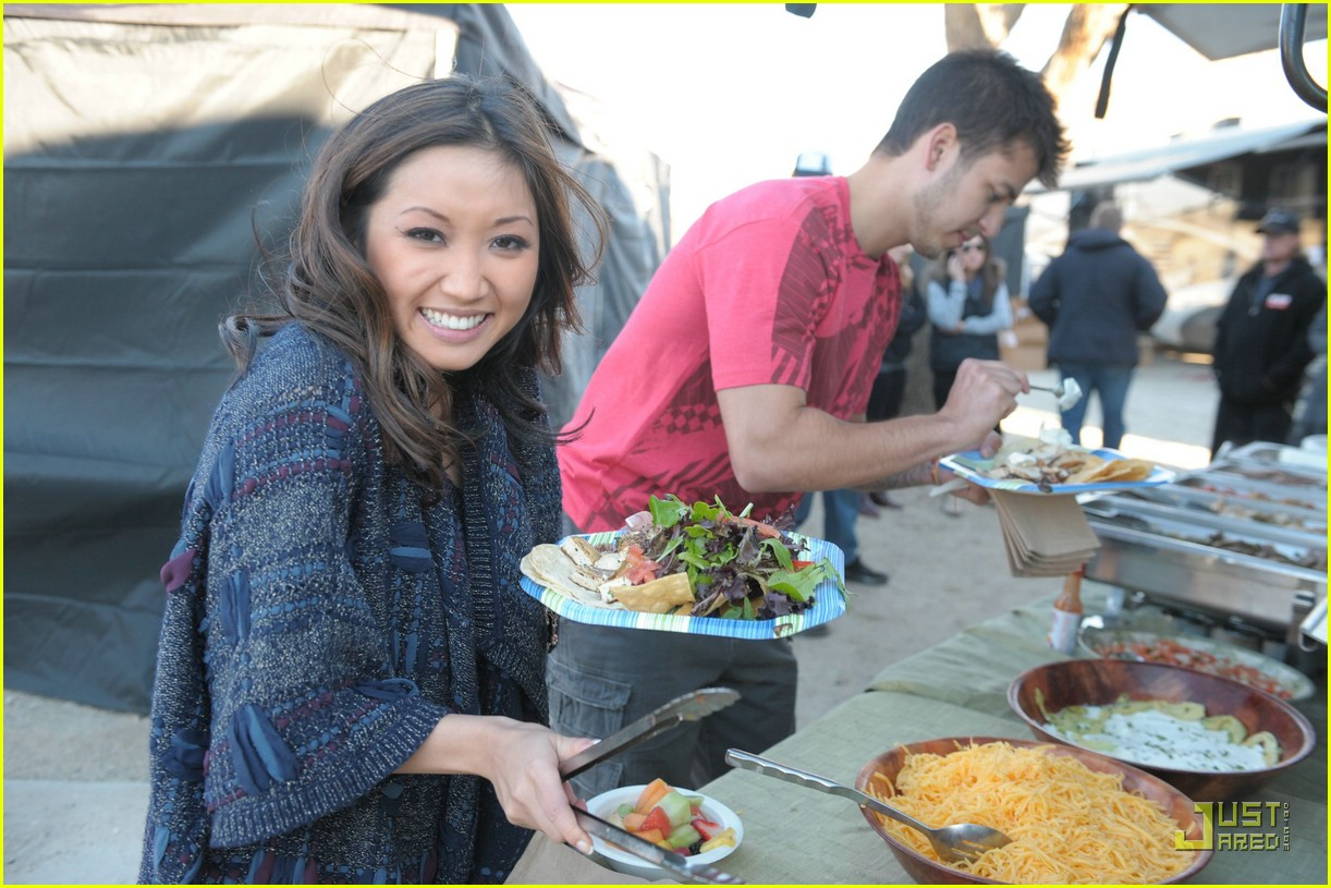 brenda song op bikini first kiss 10