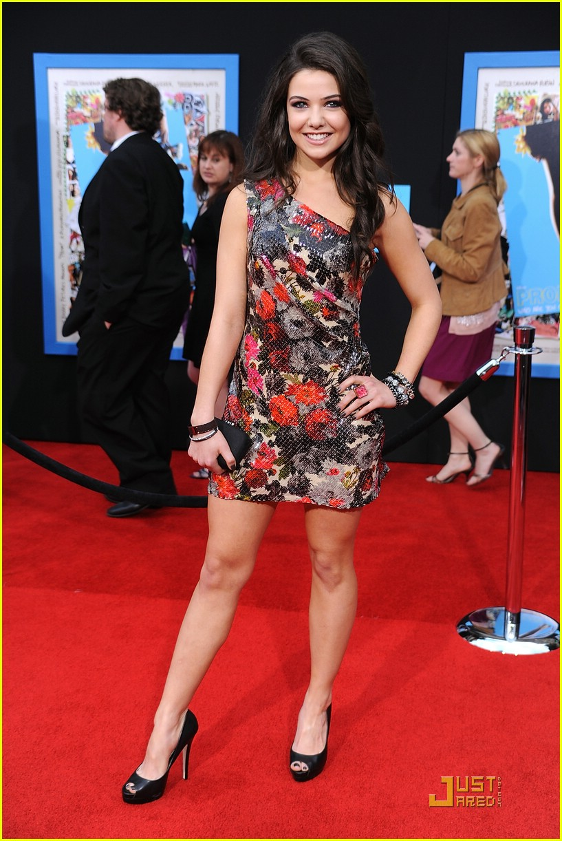 danielle campbell prom premiere perfection photo