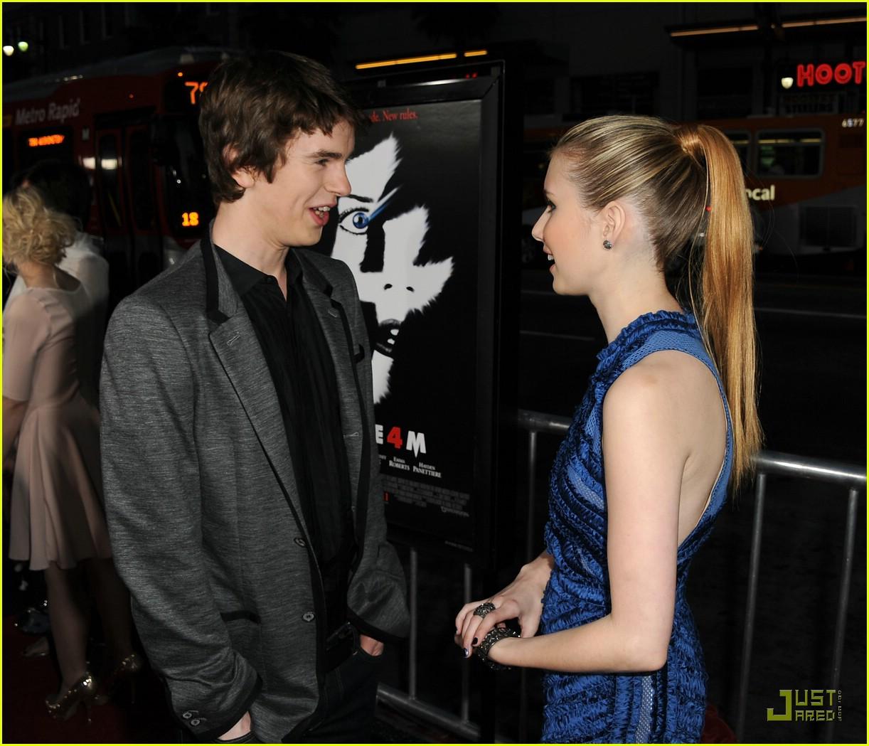 Freddie Highmore 'Screams' for Emma Roberts | Photo 412815 ...