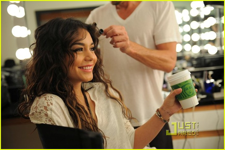 vanessa hudgens candies bts photo