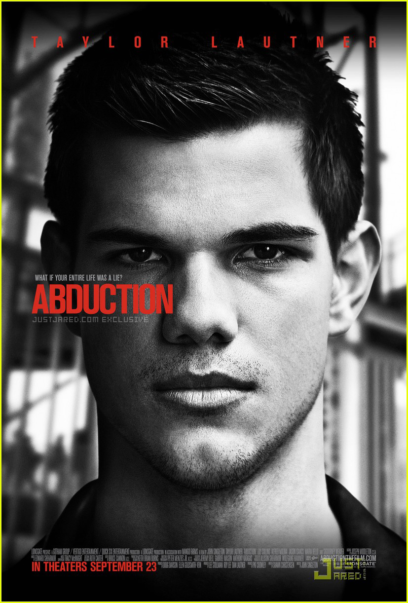 taylor lautner abduction poster 01