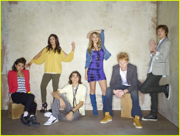 lemonade mouth cast shoot 08