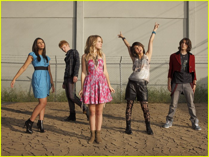 lemonade mouth cast shoot 09