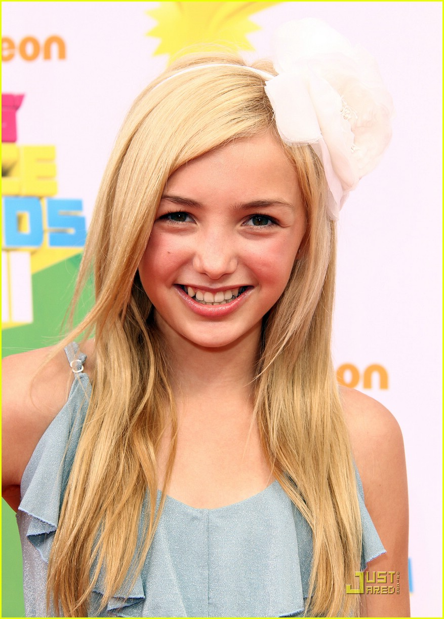 peyton list kids choice awards 11