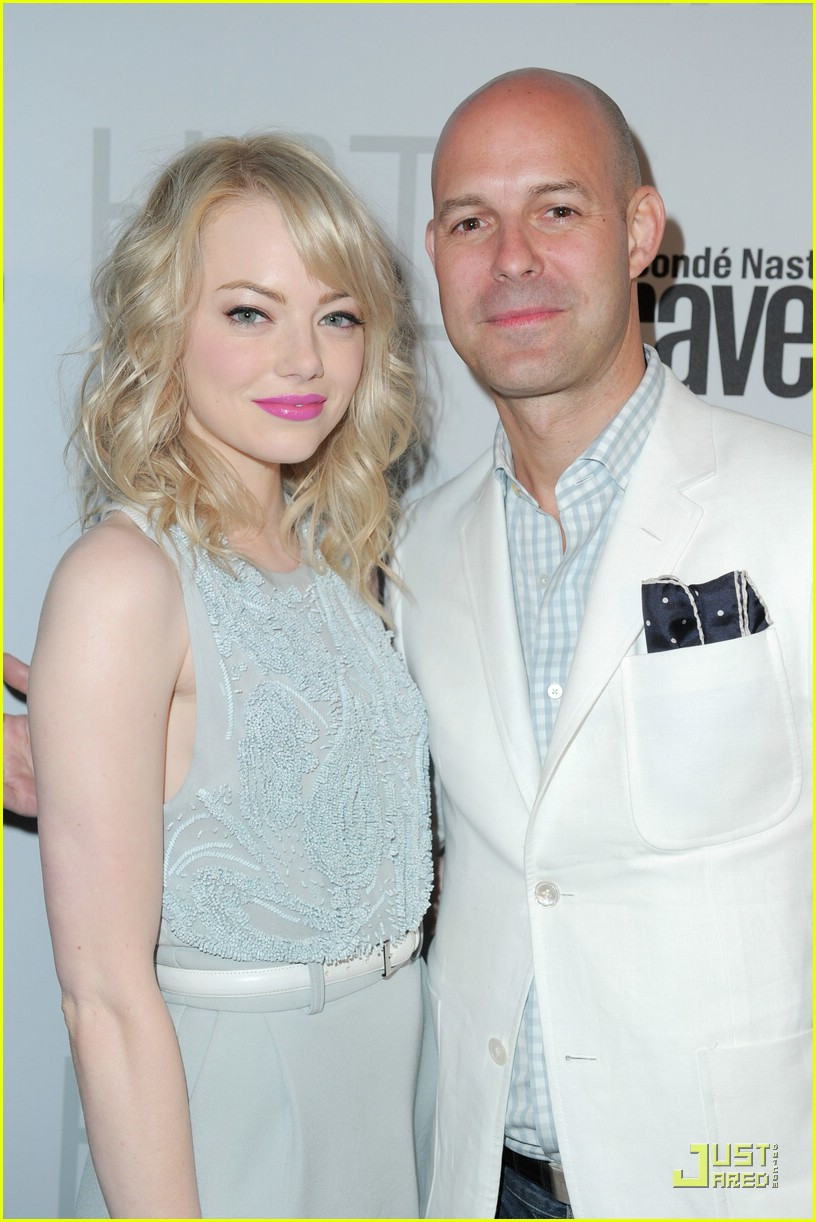 emma stone conde nast party 10