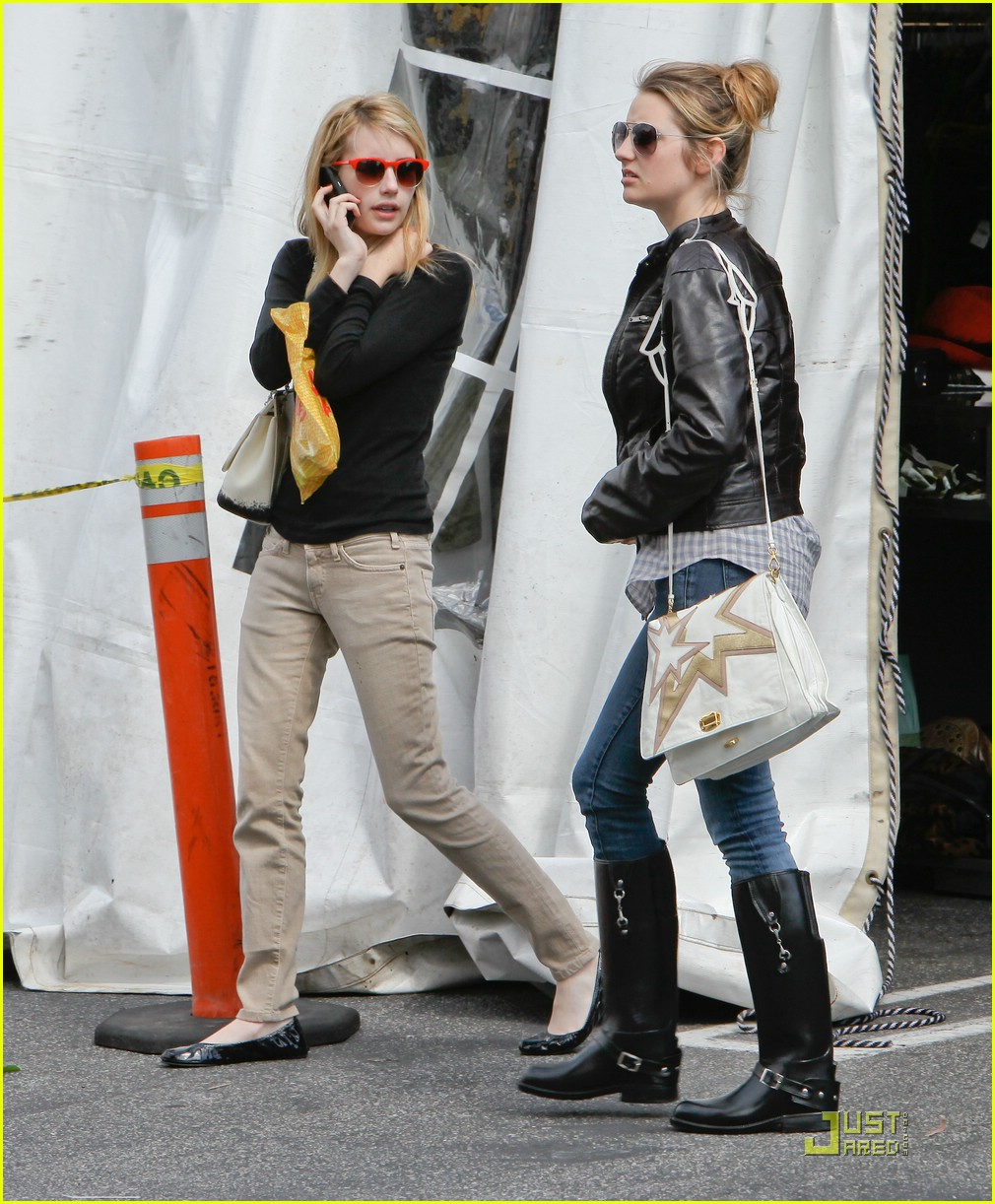 emma roberts parking lot sale 11